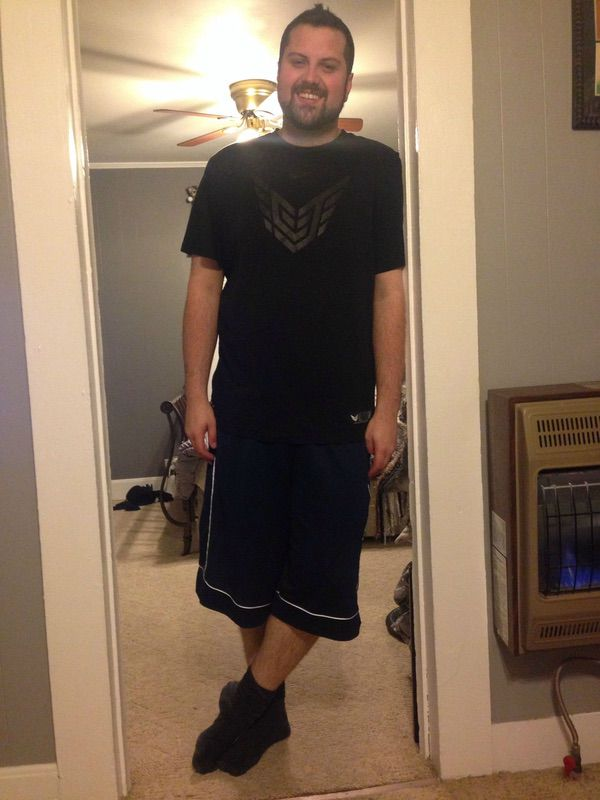 6'5 Male Before and After 37 lbs Weight Loss 297 lbs to 260 lbs