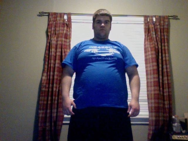Before and After 70 lbs Weight Loss 5 foot 6 Male 280 lbs to 210 lbs