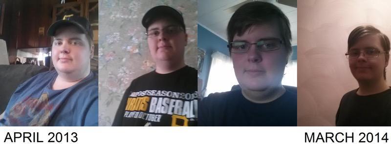 122 lbs Fat Loss 5'7 Male 311 lbs to 189 lbs