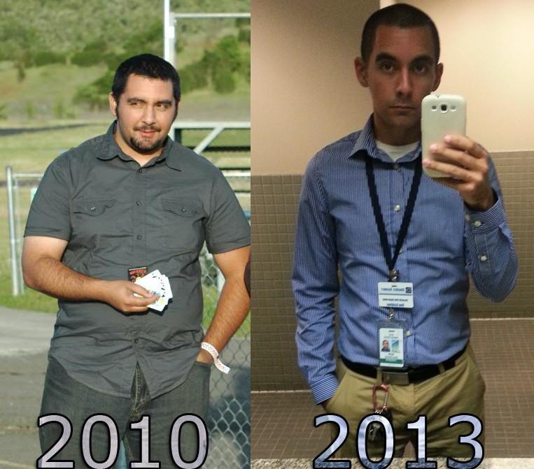 Progress Pics of 128 lbs Fat Loss 5 foot 8 Male 275 lbs to 147 lbs