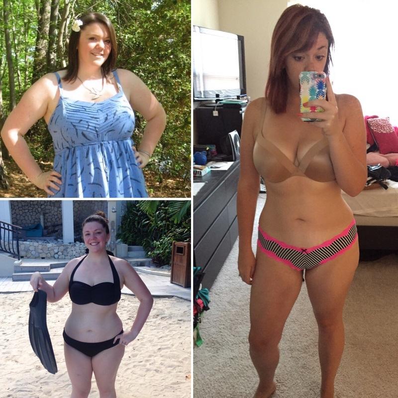 Progress Pics of 64 lbs Fat Loss 5 foot 10 Female 240 lbs to 176 lbs