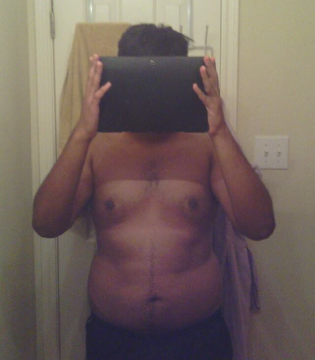Before and After 49 lbs Weight Loss 5 foot 11 Male 218 lbs to 169 lbs