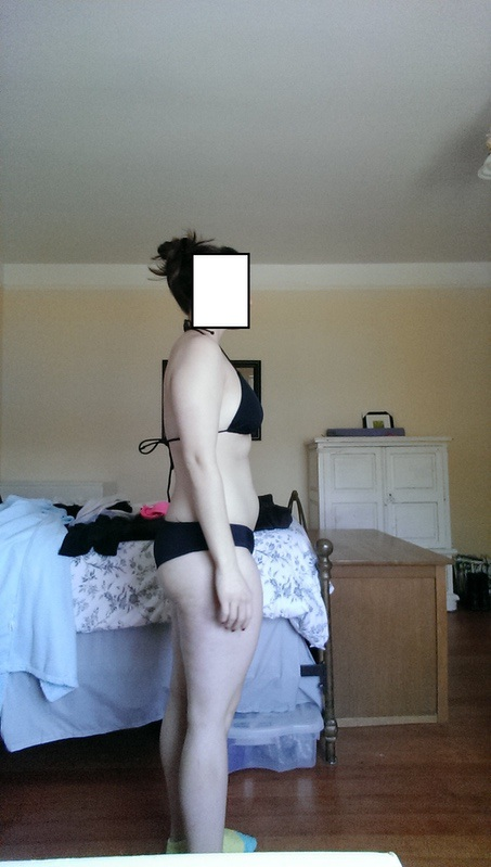 3 Pics of a 144 lbs 5 foot 5 Female Fitness Inspo