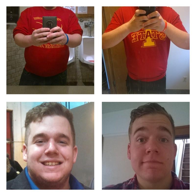 5'11 Male 60 lbs Weight Loss 270 lbs to 210 lbs