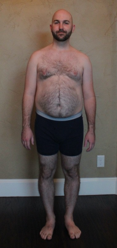 4 Pics of a 198 lbs 5'10 Male Weight Snapshot