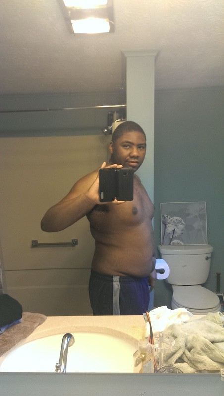 5 foot Male 53 lbs Weight Loss Before and After 235 lbs to 182 lbs