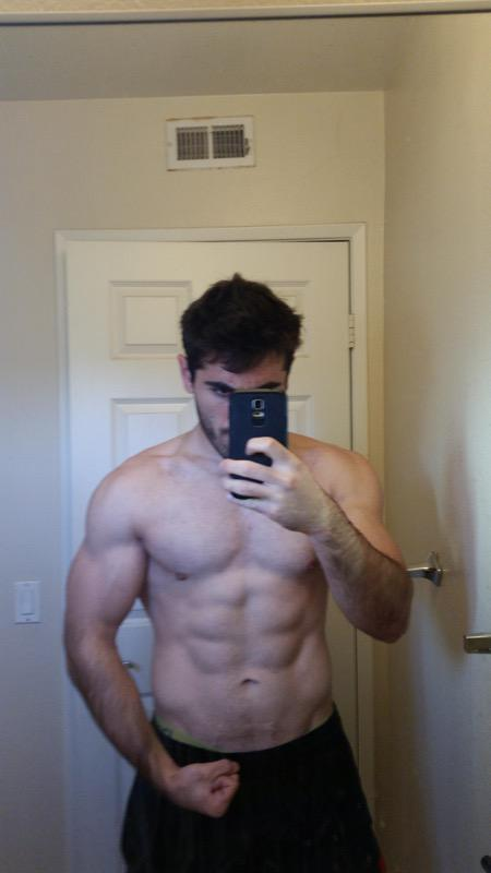 1 Pic of a 190 lbs 5 foot 11 Male Weight Snapshot
