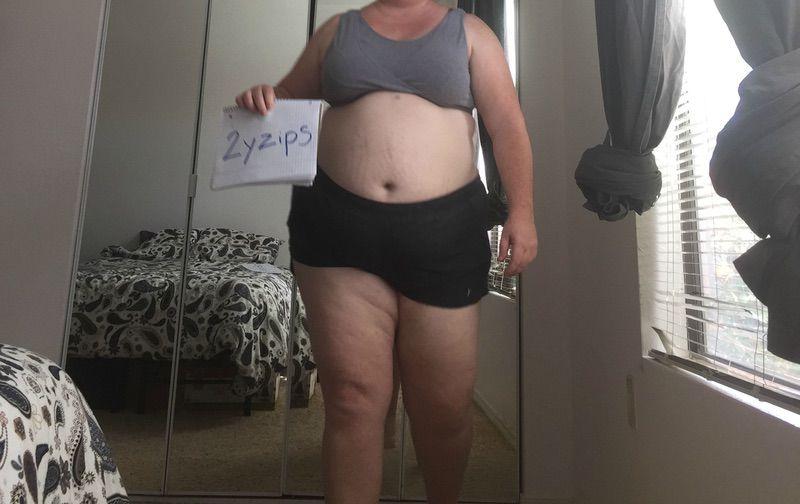 3 Photos of a 5 feet 8 306 lbs Female Weight Snapshot