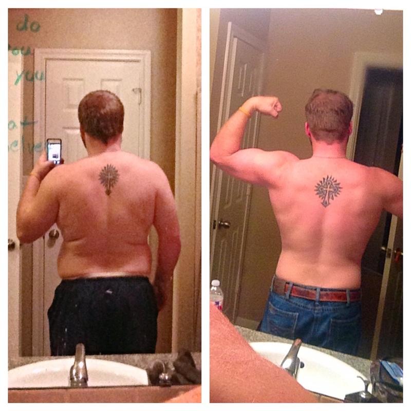 45 lbs Fat Loss 5 feet 9 Male 238 lbs to 193 lbs