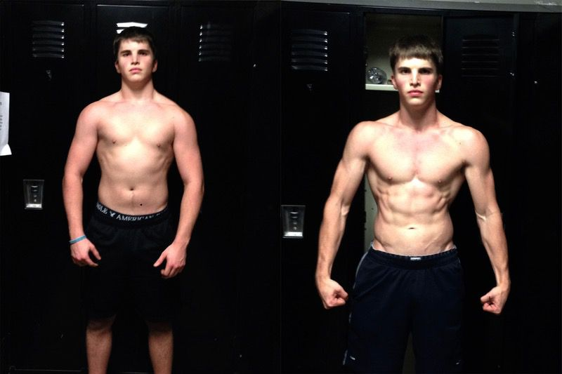 5 foot Male Before and After 30 lbs Fat Loss 185 lbs to 155 lbs