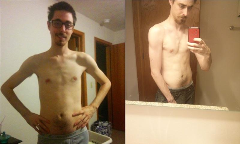 5 foot 10 Male 16 lbs Muscle Gain 122 lbs to 138 lbs