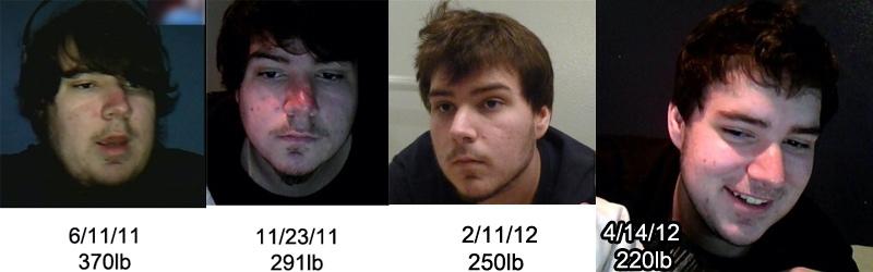 5'10 Male 150 lbs Weight Loss 370 lbs to 220 lbs