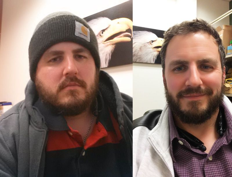 5 foot 6 Male 72 lbs Weight Loss Before and After 250 lbs to 178 lbs