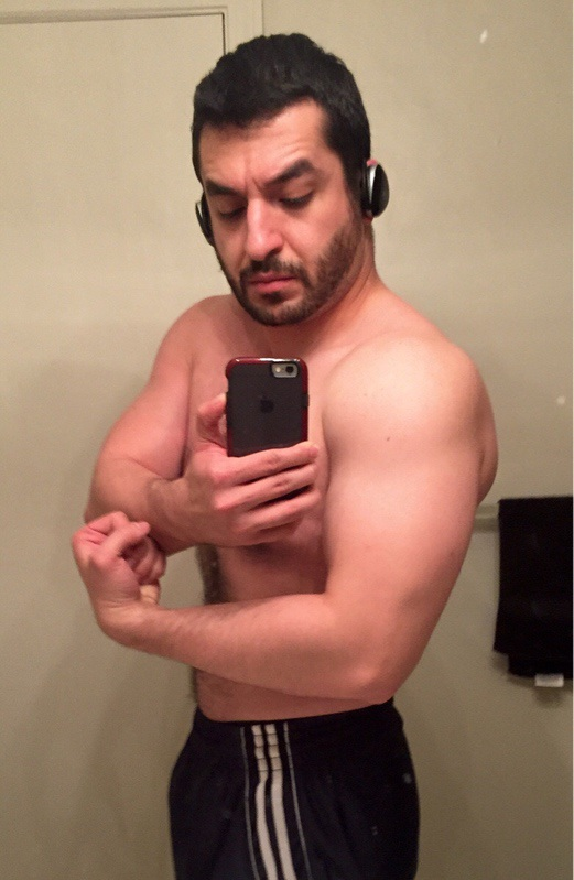 5 feet 8 Male Before and After 7 lbs Fat Loss 196 lbs to 189 lbs