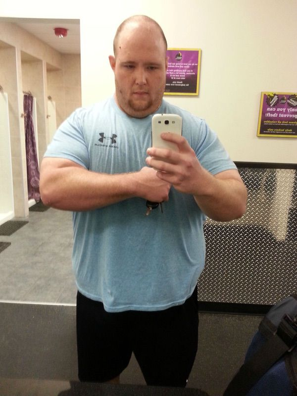 6 feet 2 Male 130 lbs Weight Loss 460 lbs to 330 lbs