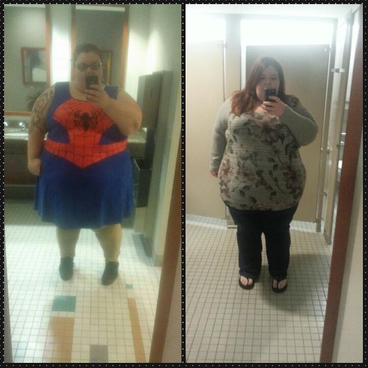 81 lbs Fat Loss 5'4 Female 501 lbs to 420 lbs