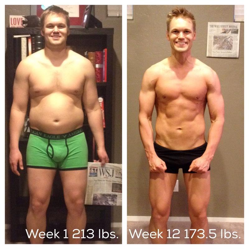 6 foot Male 40 lbs Fat Loss 213 lbs to 173 lbs