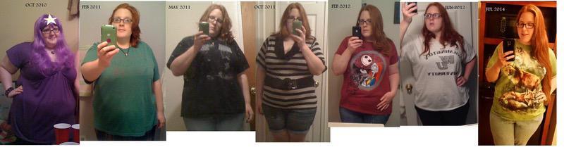 67 lbs Fat Loss 5 feet 7 Female 300 lbs to 233 lbs