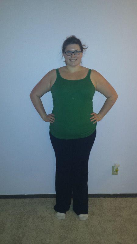 6 foot Female Progress Pics of 20 lbs Fat Loss 288 lbs to 268 lbs