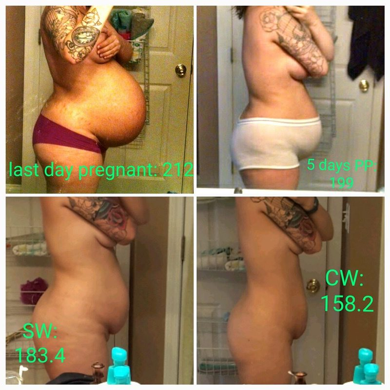 Before and After 25 lbs Fat Loss 5 foot 6 Female 183 lbs to 158 lbs