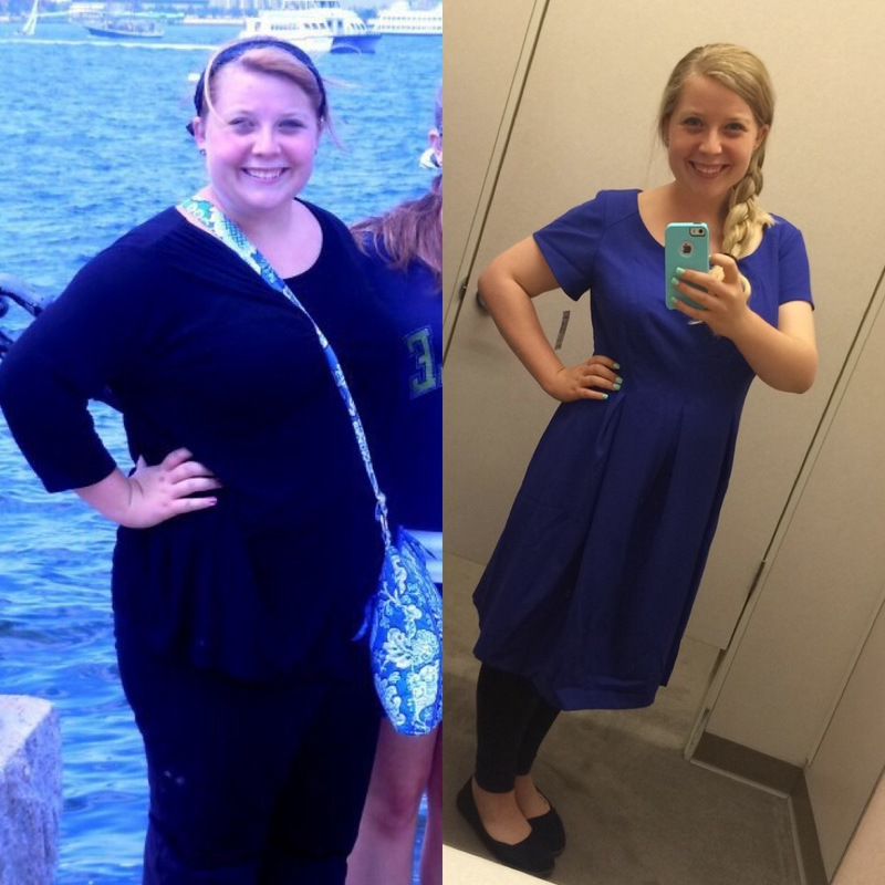 5 foot 4 Female 63 lbs Fat Loss Before and After 238 lbs to 175 lbs