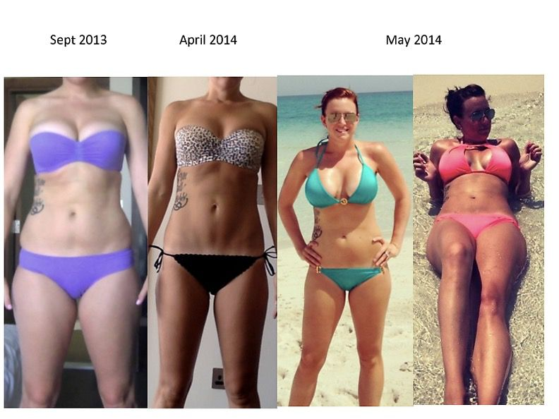 5 feet 10 Female 25 lbs Weight Loss Before and After 175 lbs to 150 lbs