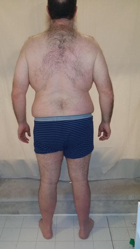 3 Pictures of a 290 lbs 6 feet 3 Male Weight Snapshot