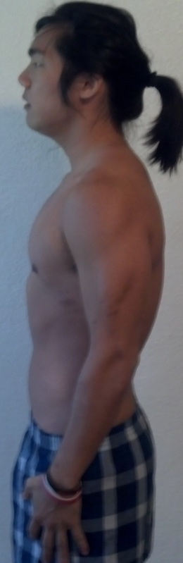 12 Pics of a 5 foot 9 157 lbs Male Weight Snapshot