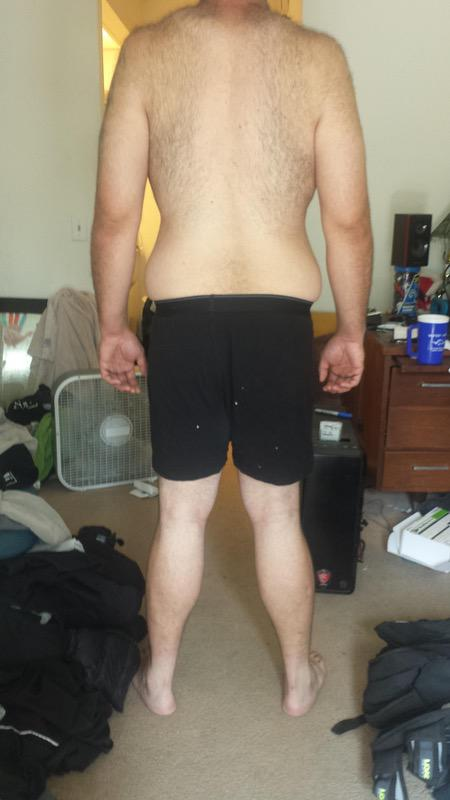 3 Pictures of a 6 feet 6 264 lbs Male Fitness Inspo