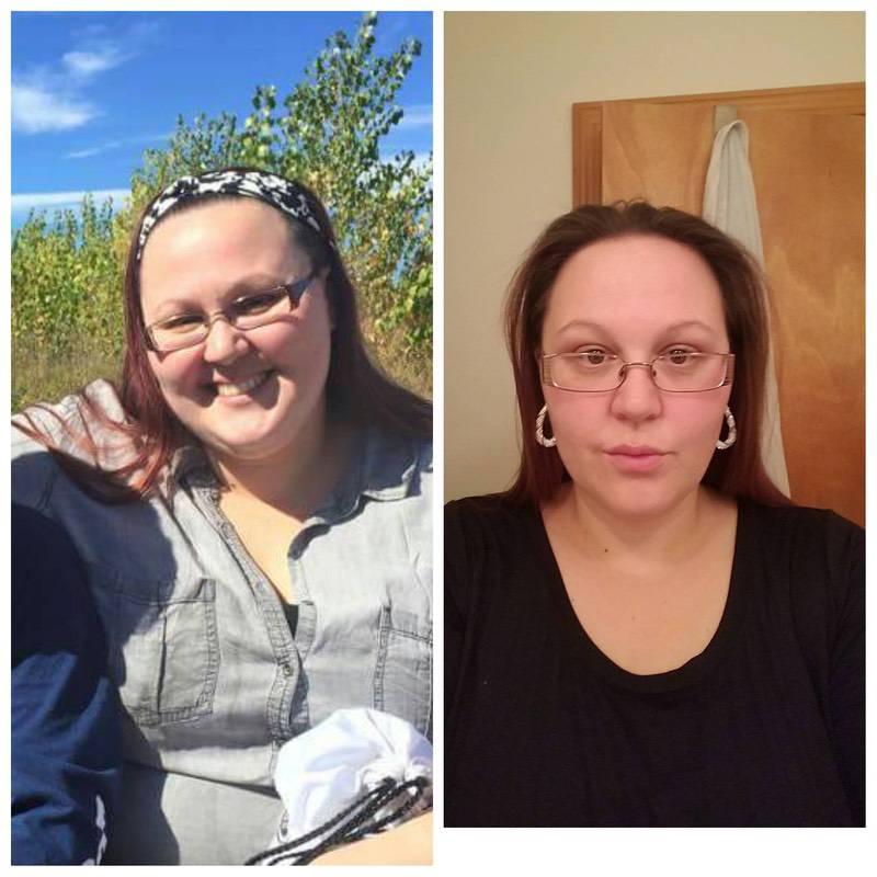 5'8 Female 56 lbs Fat Loss 297 lbs to 241 lbs