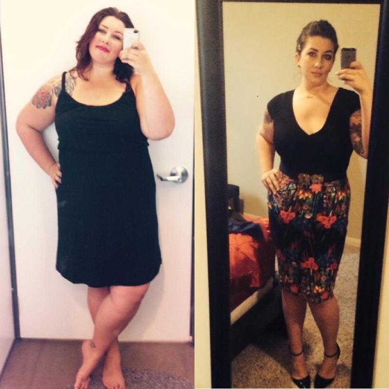 Progress Pics of 50 lbs Fat Loss 5'10 Female 293 lbs to 243 lbs
