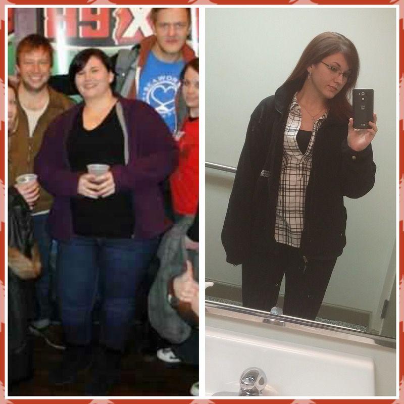 150 lbs Weight Loss 5'6 Female 321 lbs to 171 lbs
