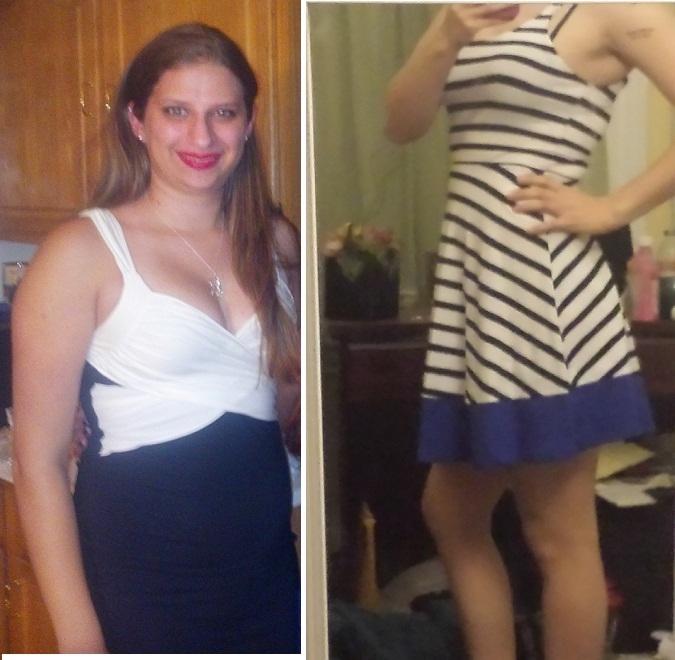 5 foot 7 Female Progress Pics of 45 lbs Weight Loss 190 lbs to 145 lbs