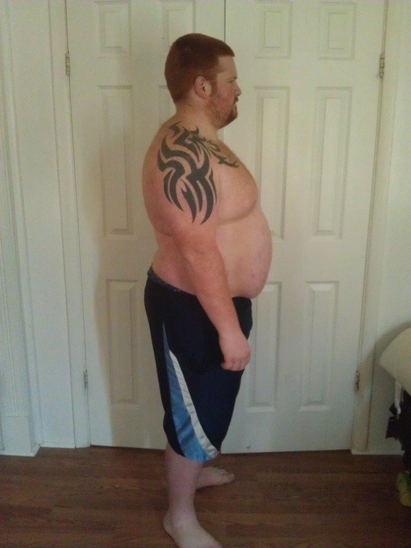 5 feet 9 Male Before and After 110 lbs Fat Loss 330 lbs to 220 lbs