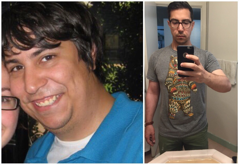 84 lbs Weight Loss Before and After 5 feet 5 Male 260 lbs to 176 lbs