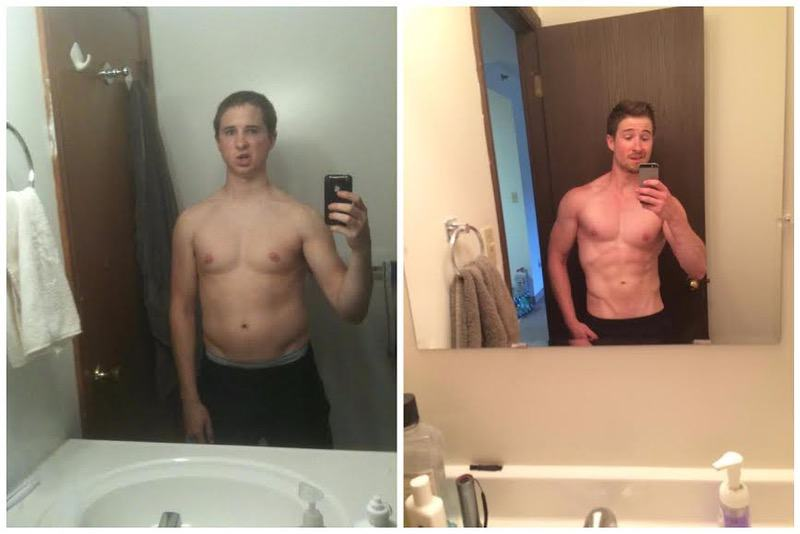 5 feet 6 Male 2 lbs Weight Loss Before and After 149 lbs to 147 lbs