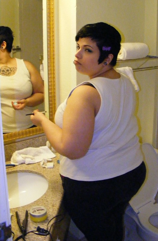 Before and After 73 lbs Fat Loss 5 foot 1 Female 258 lbs to 185 lbs