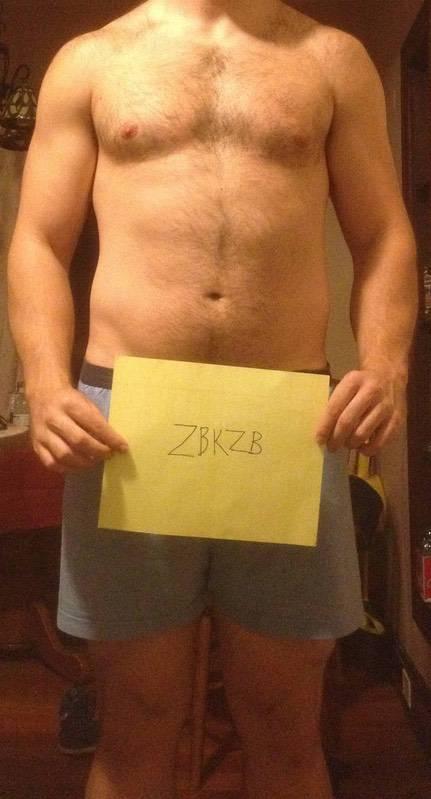 2 Pics of a 6'2 222 lbs Male Fitness Inspo