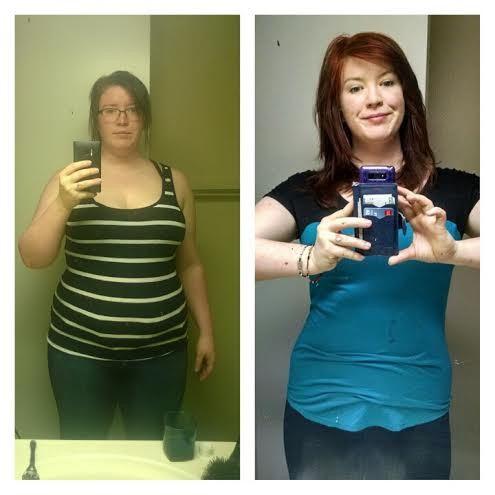 Progress Pics of 41 lbs Weight Loss 5 feet 8 Female 237 lbs to 196 lbs