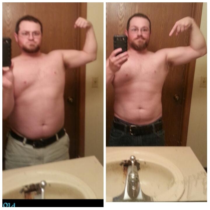 5 foot 5 Male 16 lbs Fat Loss 196 lbs to 180 lbs