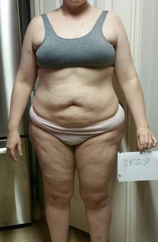 3 Pictures of a 238 lbs 6 foot Female Fitness Inspo