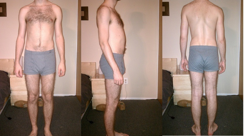 2 Photos of a 142 lbs 5'1 Male Weight Snapshot
