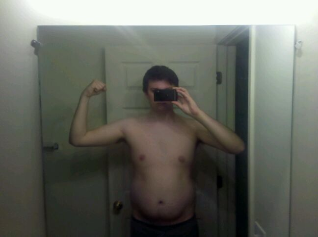 6'3 Male Before and After 75 lbs Fat Loss 250 lbs to 175 lbs