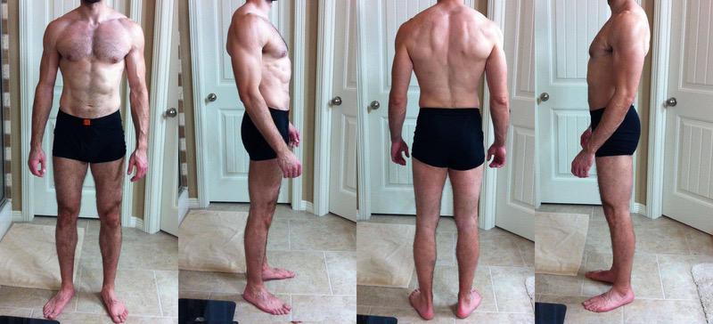 3 Photos of a 5 feet 11 163 lbs Male Weight Snapshot