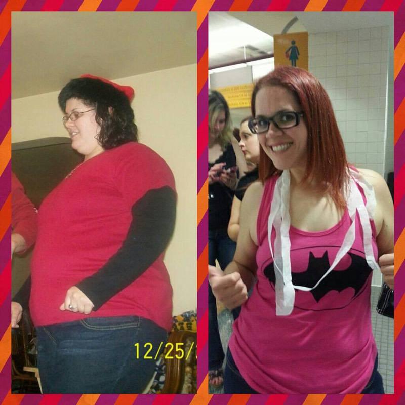 75 lbs Weight Loss 5'6 Female 265 lbs to 190 lbs