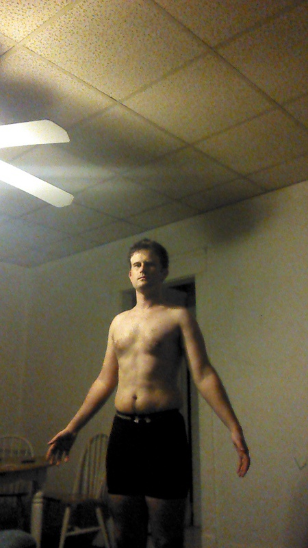 7 Pics of a 167 lbs 6 foot 2 Male Weight Snapshot