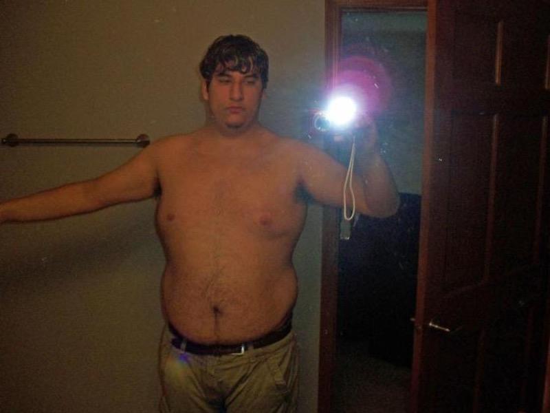 124 lbs Weight Loss 6 foot 1 Male 286 lbs to 162 lbs