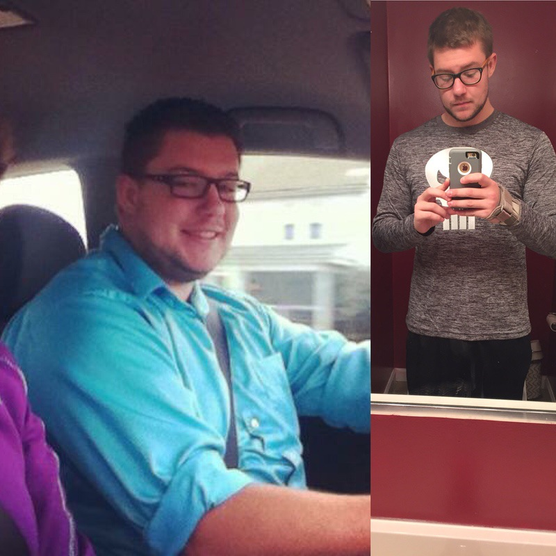 6 foot Male Before and After 86 lbs Fat Loss 276 lbs to 190 lbs