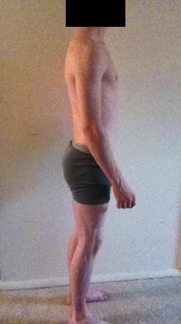 3 Pics of a 5 feet 8 140 lbs Male Fitness Inspo