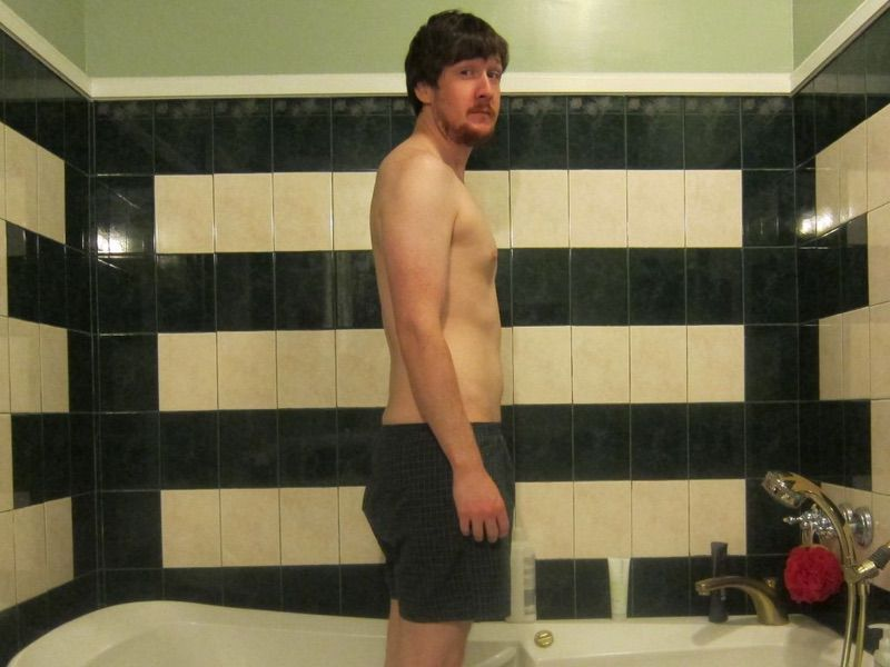 5 Pictures of a 183 lbs 6 feet 1 Male Weight Snapshot